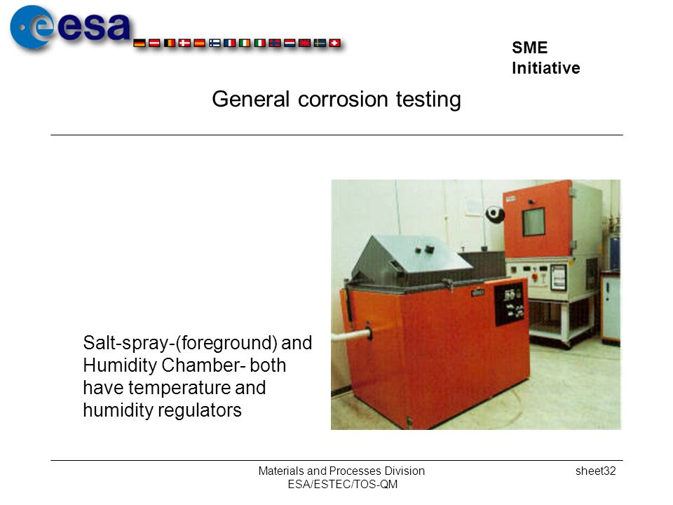 General corrosion testing