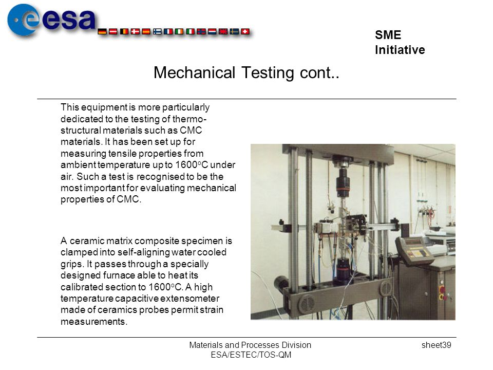 Mechanical Testing cont..