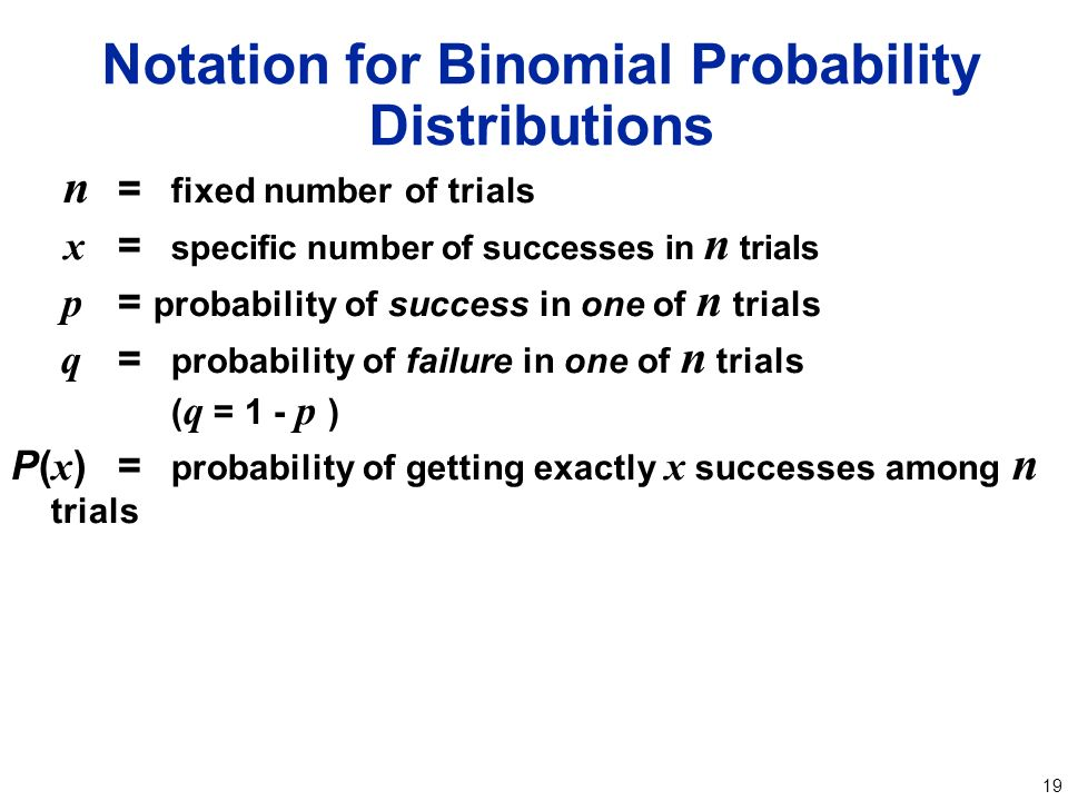 Chapter 4 Probability Distributions Ppt Video Online Download. Notation For Binomial Probability Distributions. Worksheet. Worksheet Binomial Distribution Multiple Choice At Clickcart.co