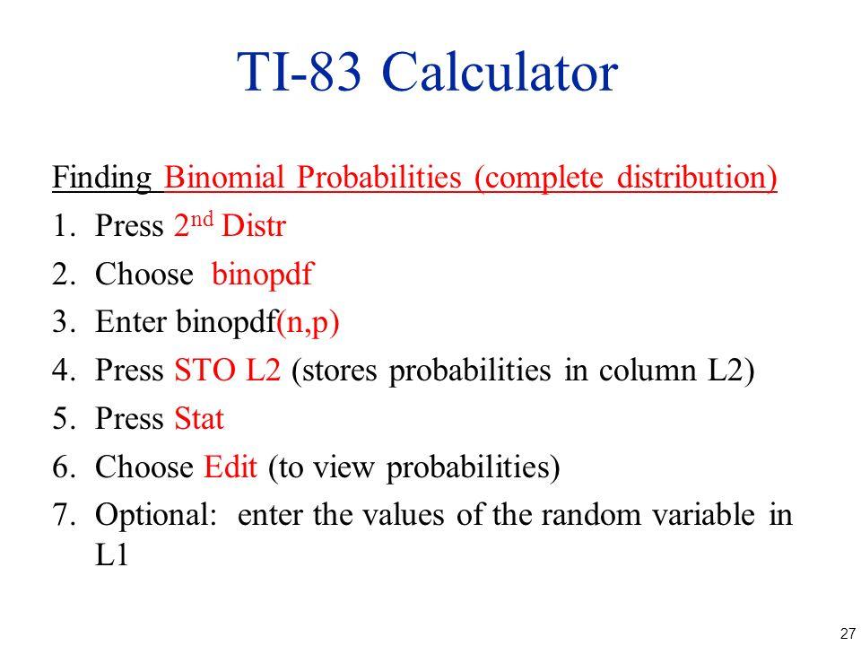 Poisson distribution ti-84 | ti-83 example.