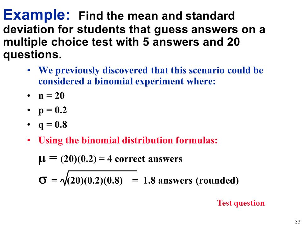 Chapter 4 Probability Distributions Ppt Video Online Download. Worksheet. Worksheet Binomial Distribution Multiple Choice At Mspartners.co