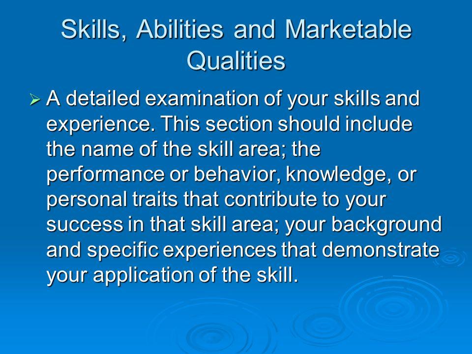 12 skills
