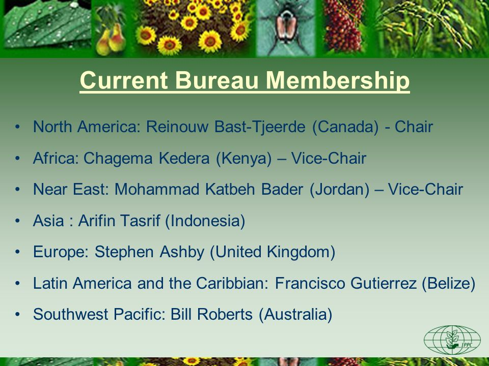 Current Bureau Membership