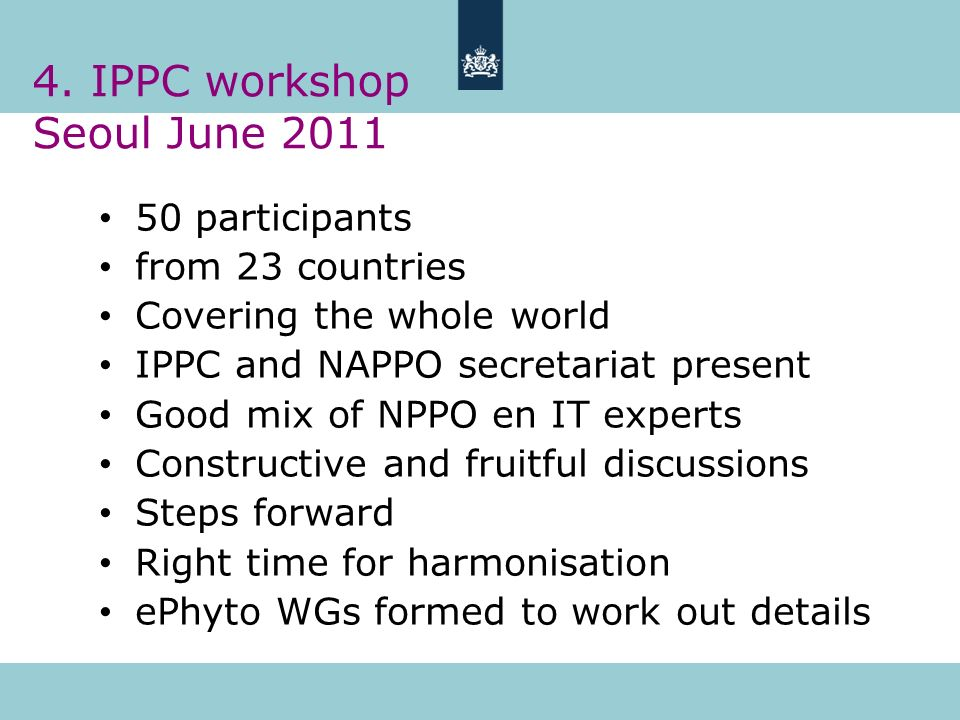 4. IPPC workshop Seoul June 2011