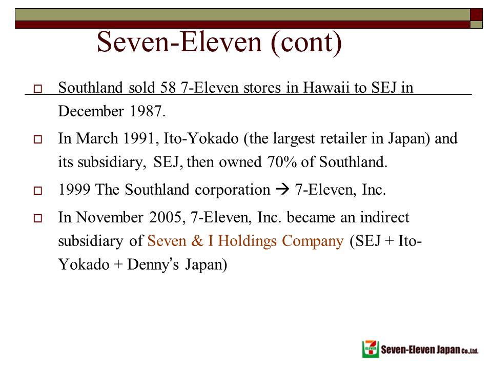 Seven Eleven Japan Co Ppt Video Online Download