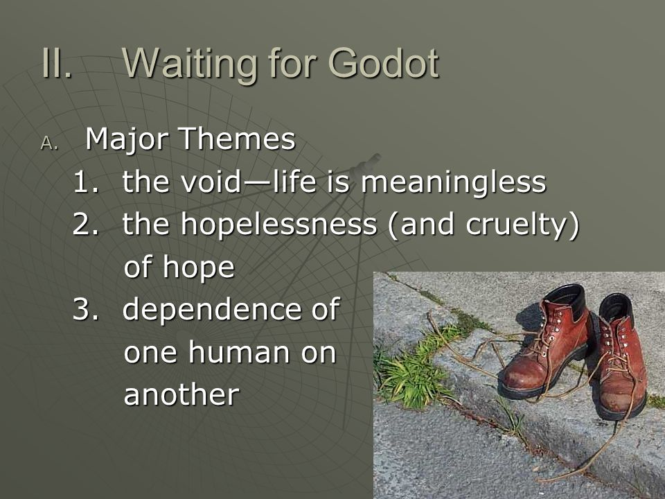 waiting for godot theme of hope