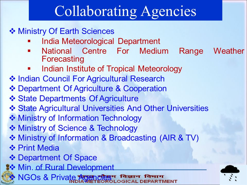Collaborating Agencies