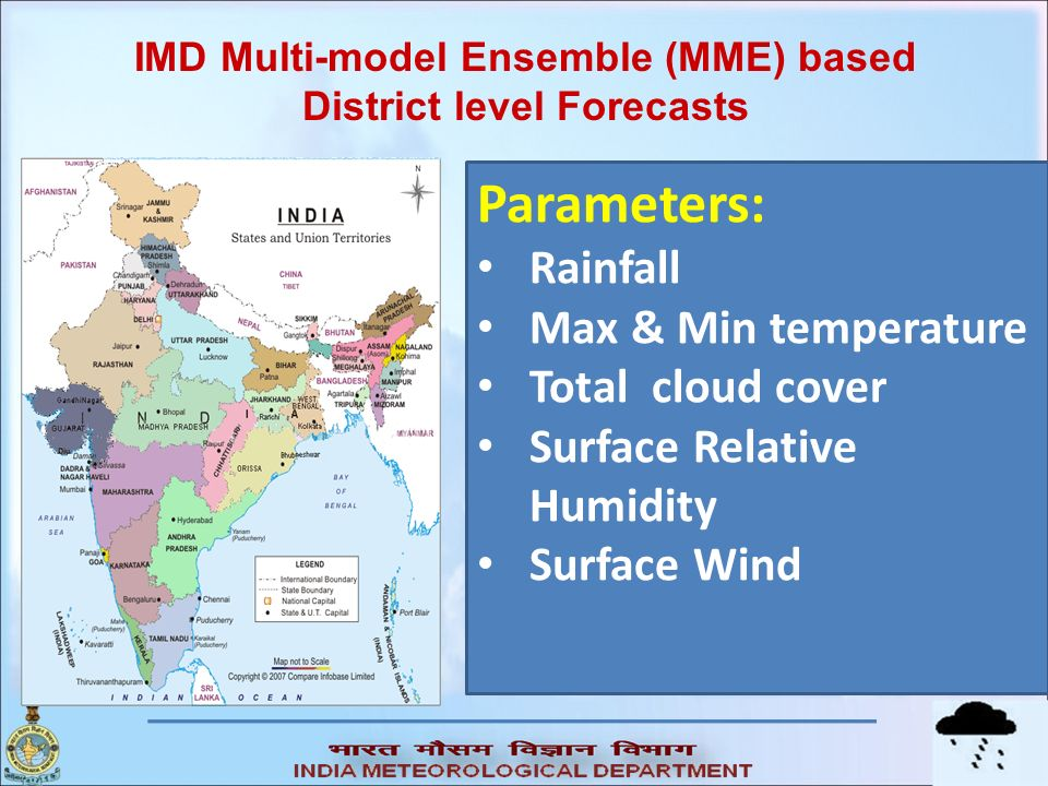 IMD Multi-model Ensemble (MME) based District level Forecasts