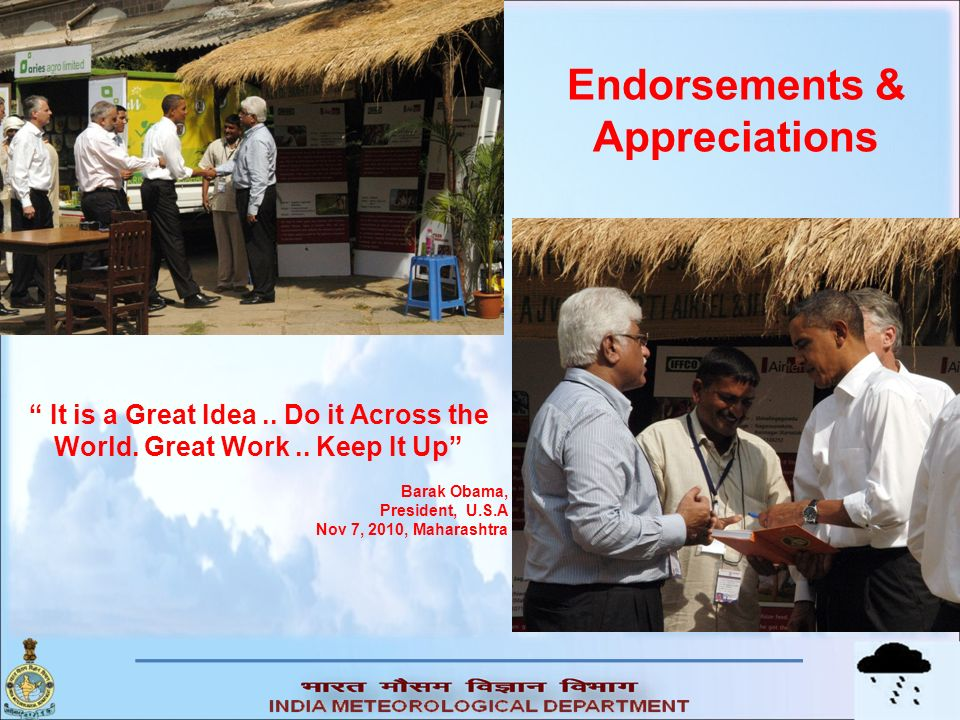 Endorsements & Appreciations