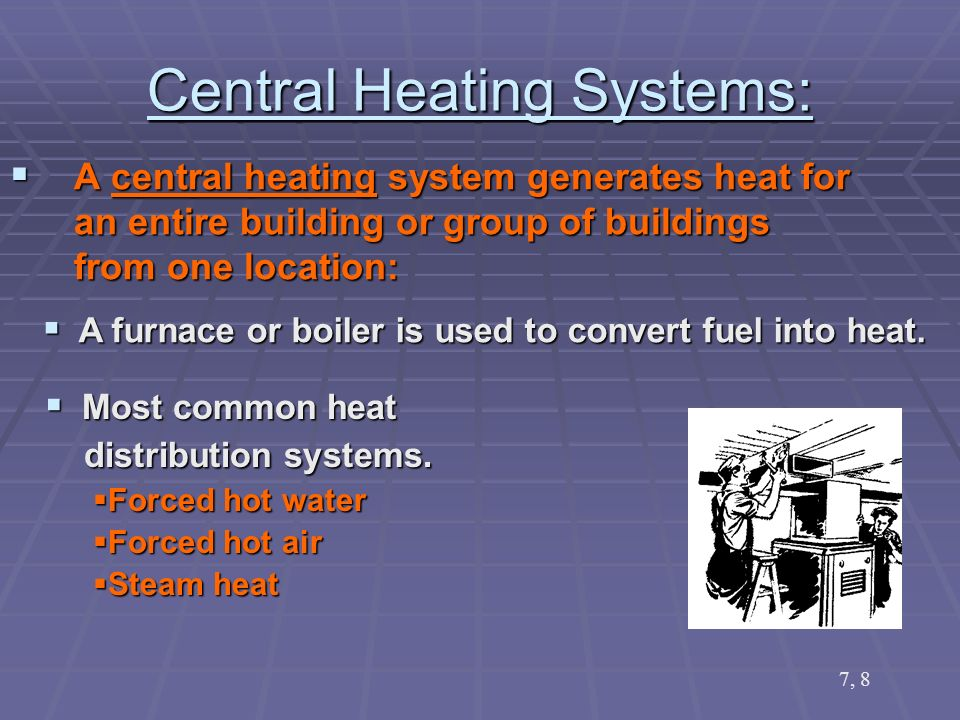 Heating Systems. - ppt video online download