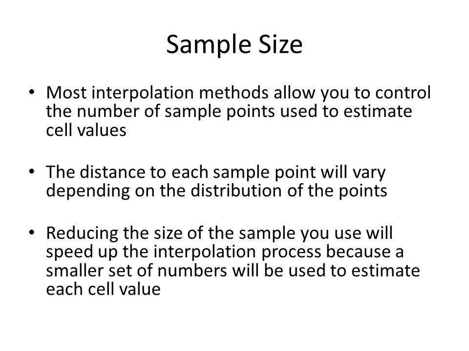 Interpolation  - ppt download
