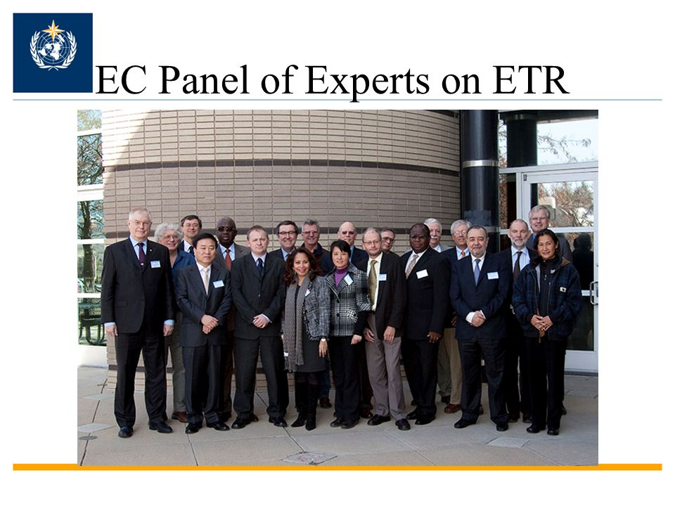 EC Panel of Experts on ETR