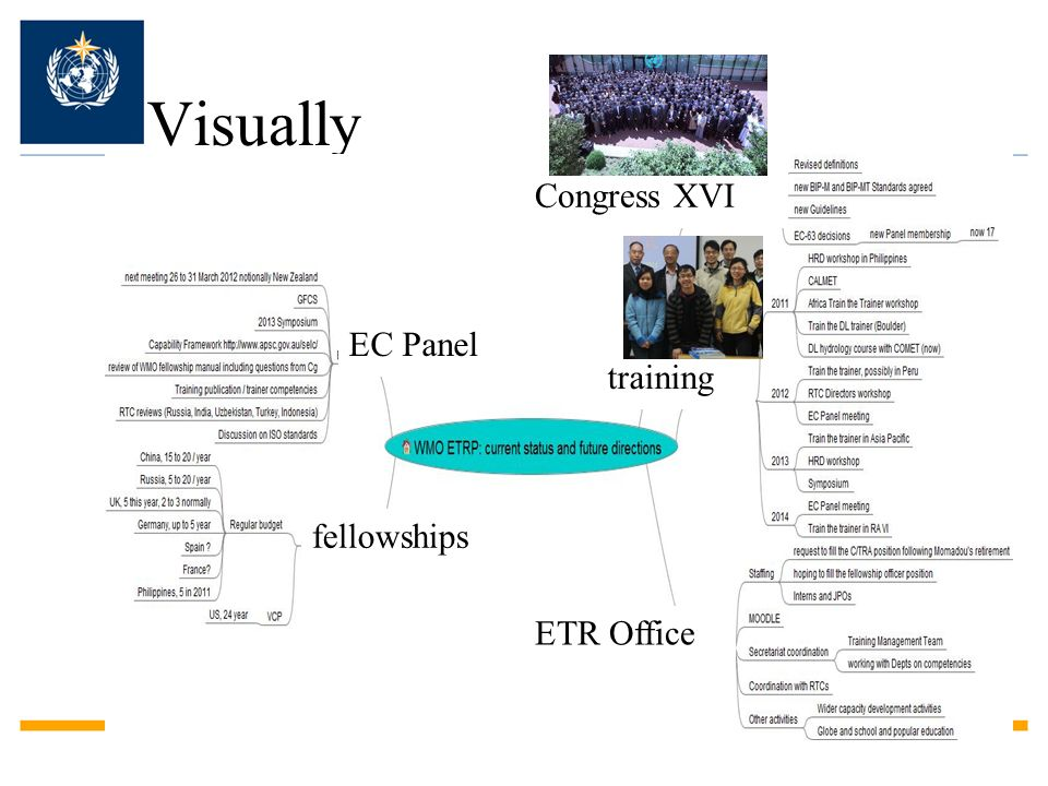 Visually Congress XVI EC Panel training fellowships ETR Office