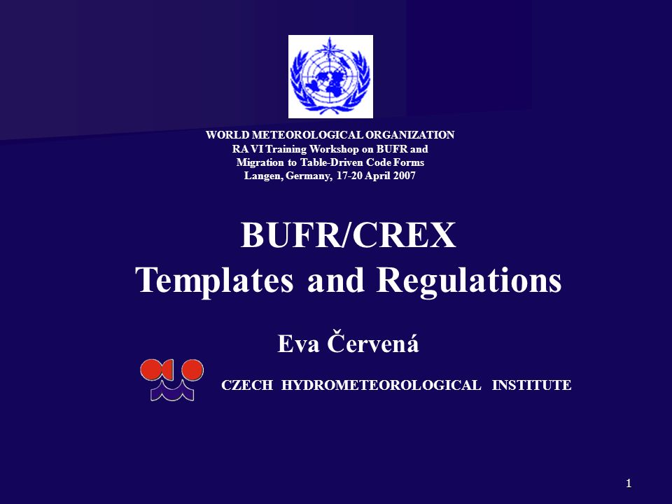 Templates and Regulations
