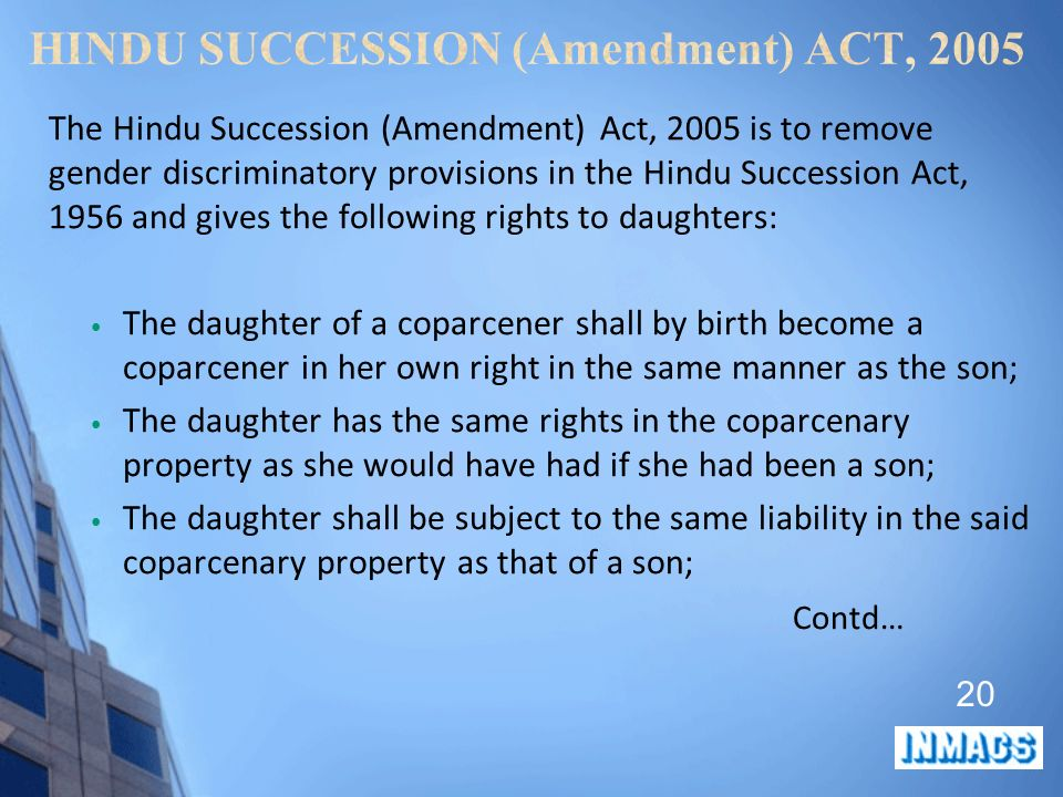 Pdf Hindu Succession Act 1956