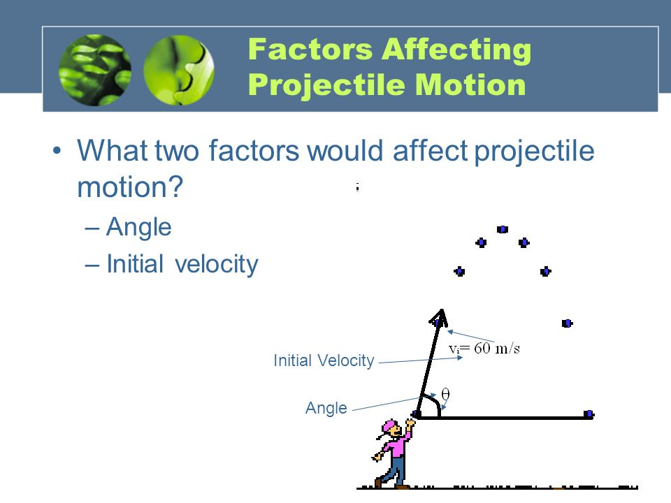 Factors Affecting Projectile Motion
