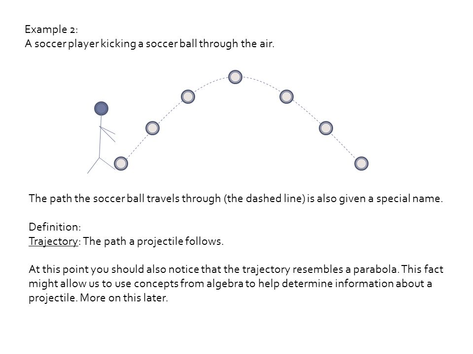 projectile motion part 1 ppt download