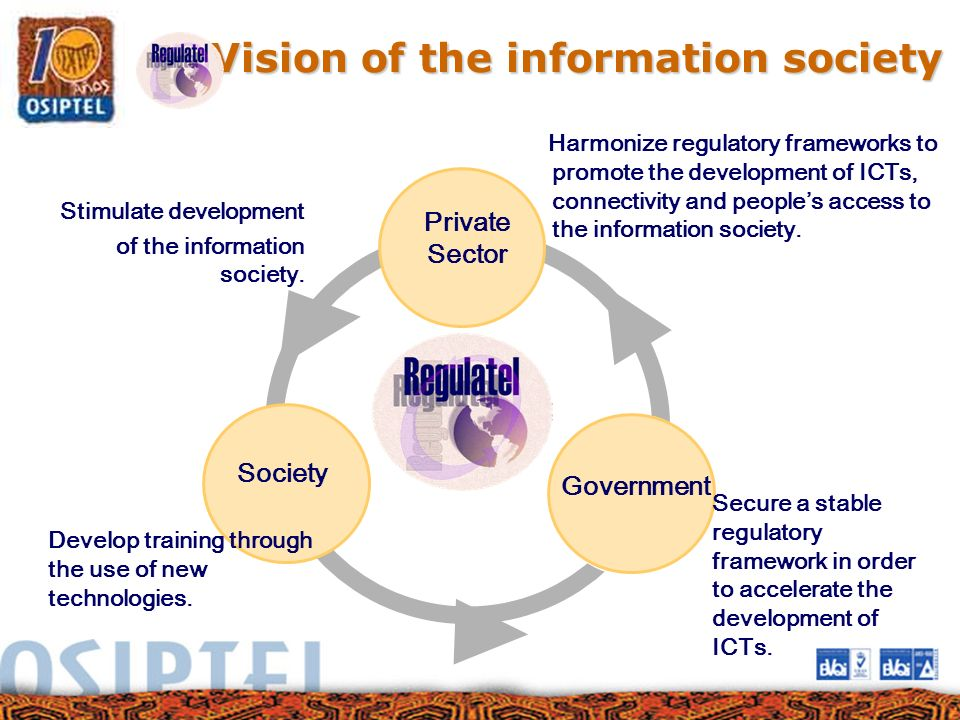Vision of the information society