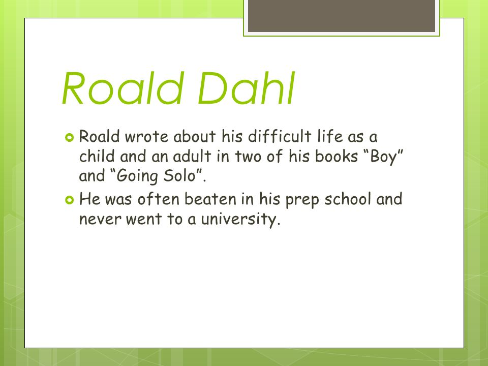 Poison By Roald Dahl Ppt Download