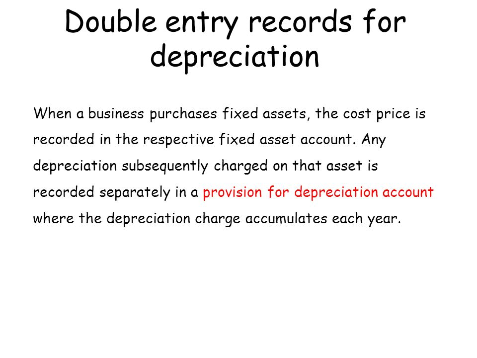 depreciation and provision for depreciation accounting essay The free accounting research paper (discuss the importance of depreciation expenses essay) presented on this page should not be viewed as a sample of our on-line writing service if you need fresh and competent research / writing on accounting, use the professional writing service offered by our company.