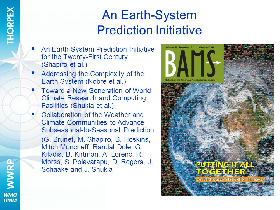An Earth-System Prediction Initiative