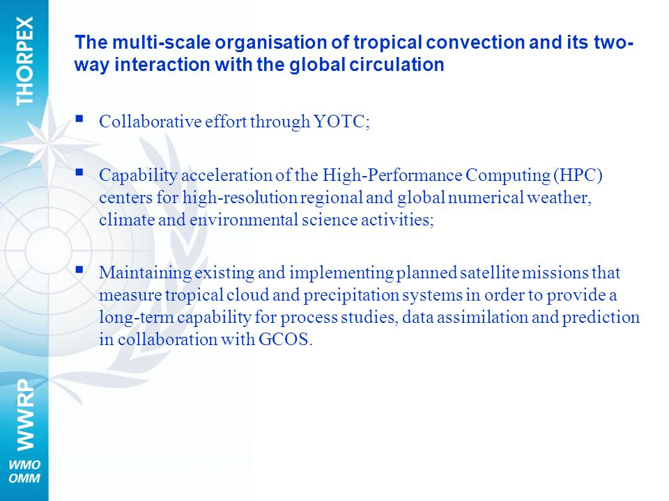 The multi-scale organisation of tropical convection and its two-way interaction with the global circulation