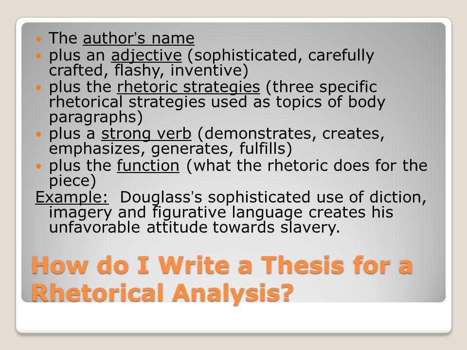 rhetorical analysis introduction example