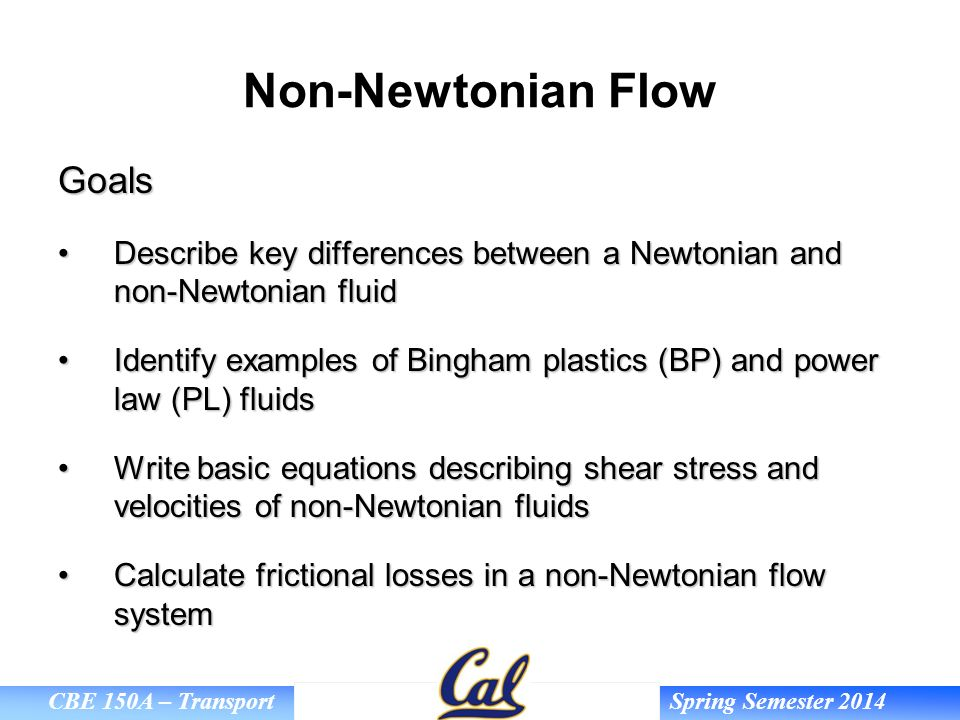 Non-Newtonian Fluids  - ppt video online download