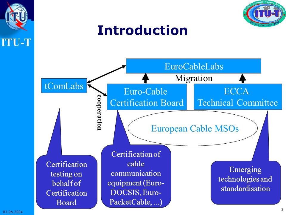 Introduction EuroCableLabs Migration tComLabs