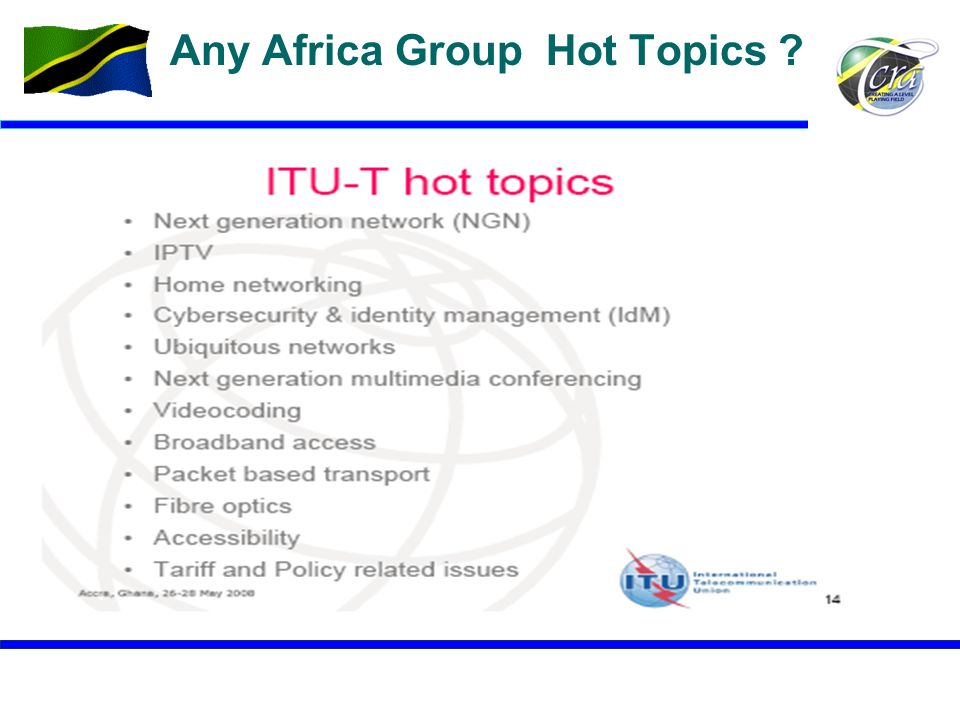 Any Africa Group Hot Topics