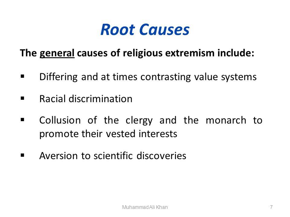 causes of religious discrimination