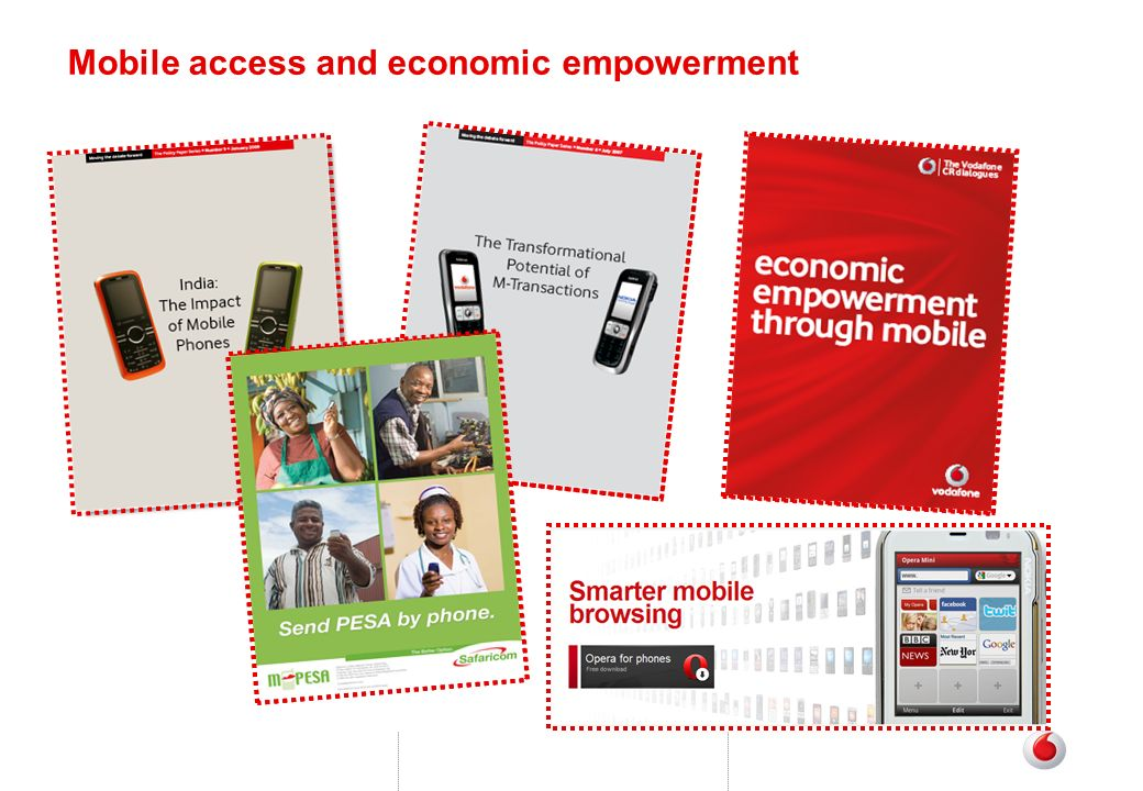 Mobile access and economic empowerment