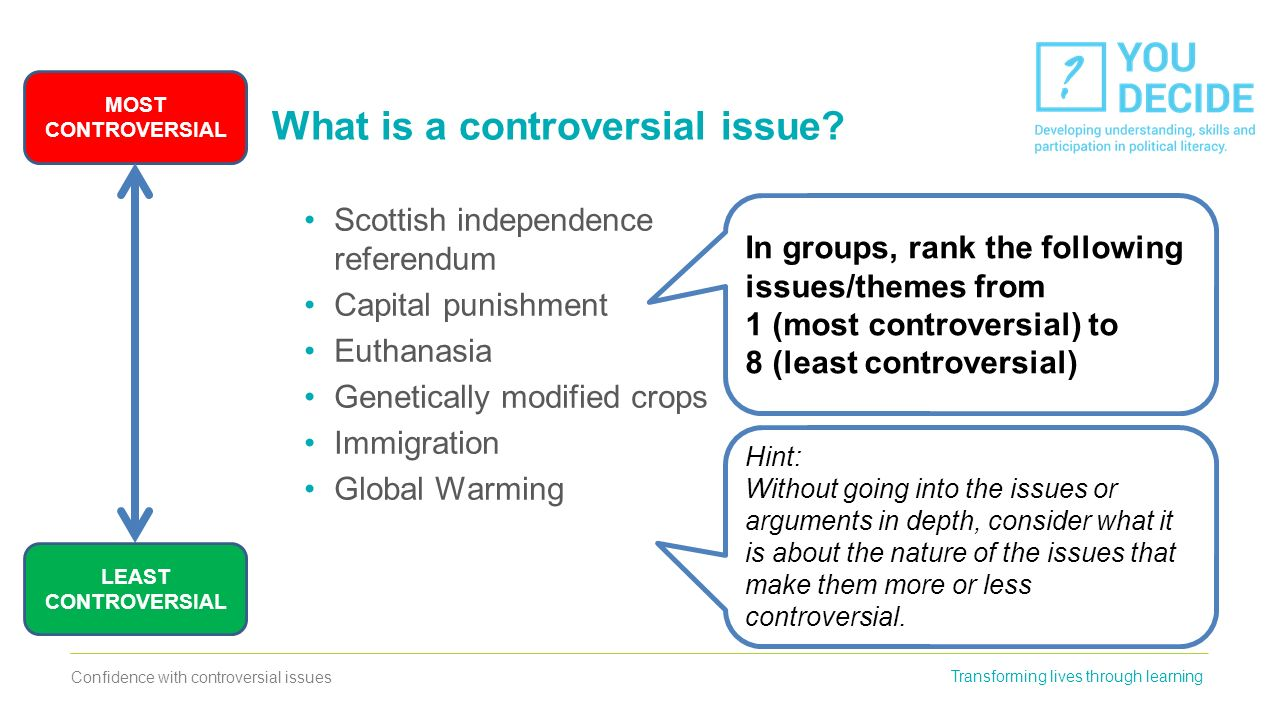 controversial themes
