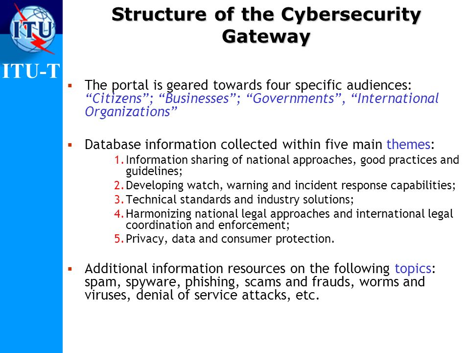 Structure of the Cybersecurity Gateway