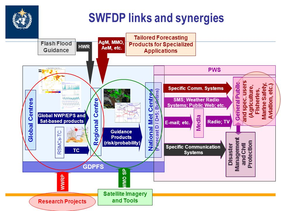 SWFDP links and synergies