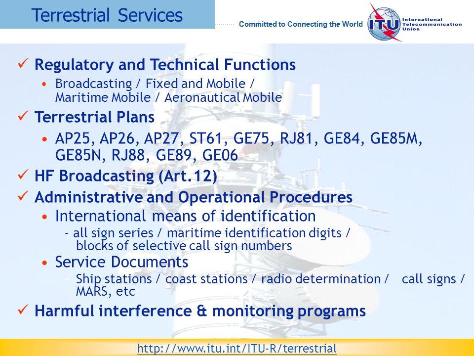 ITU and the Radiocommunication Sector (ITU-R) - ppt video online