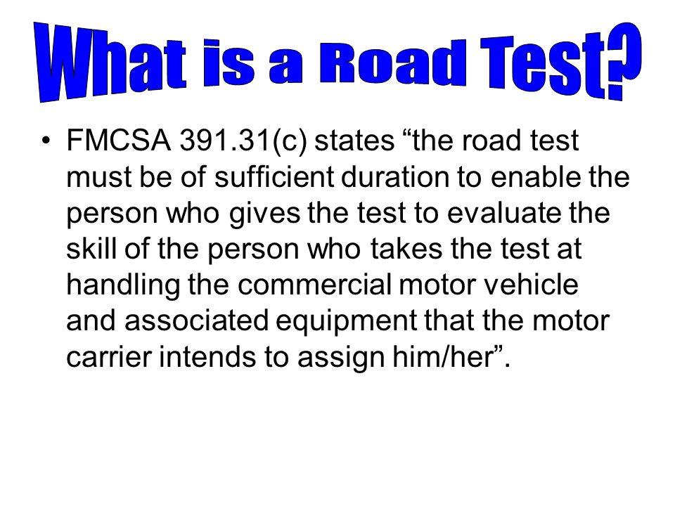 Road Test Examiner Program - ppt video online download