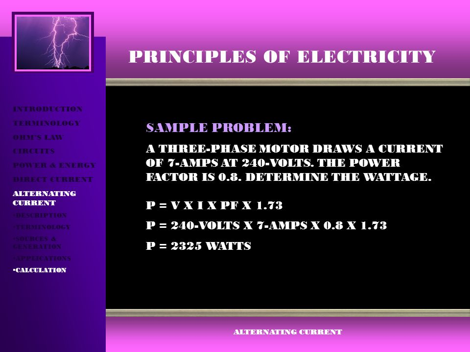 38 PRINCIPLES OF ELECTRICITY