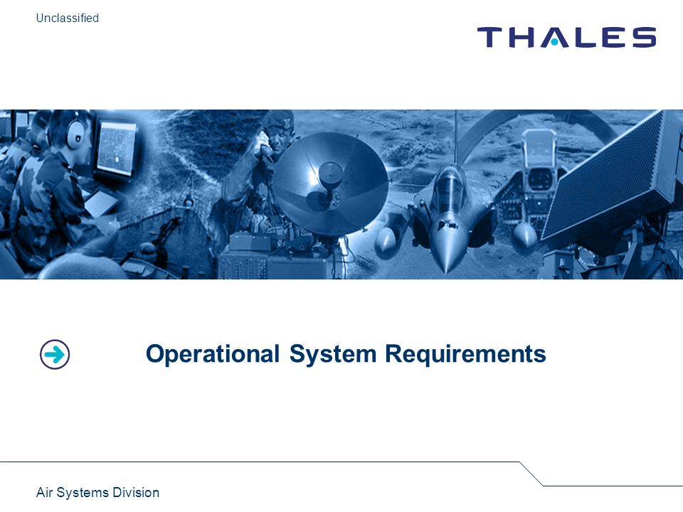 Operational System Requirements