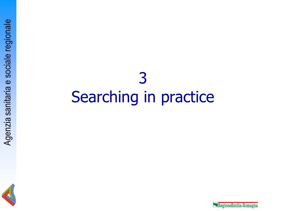 3 Searching in practice
