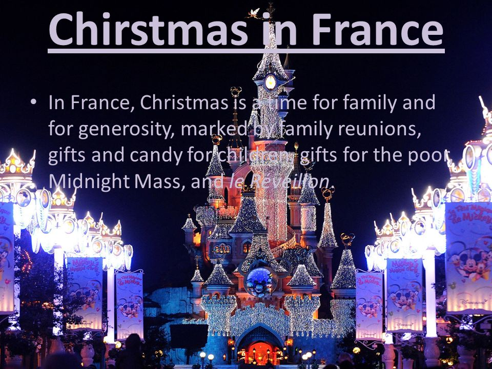 Christmas In France Tradition.Christmas Traditions Around The World Ppt Video Online