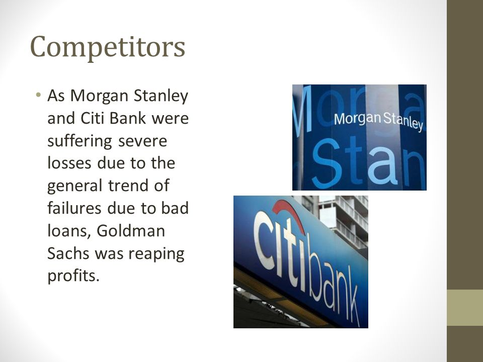 "Goldman Sachs Banks on Cultural Capital"" - ppt video online"