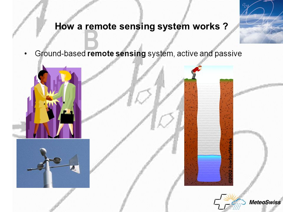 How a remote sensing system works