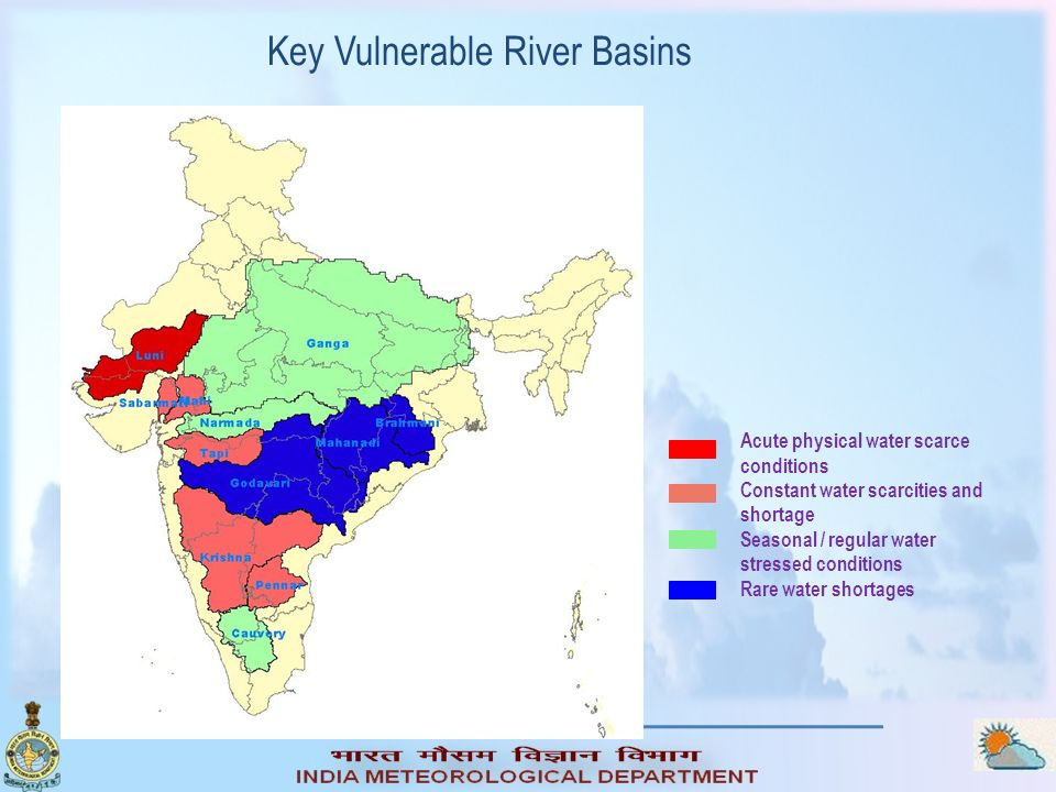 Key Vulnerable River Basins