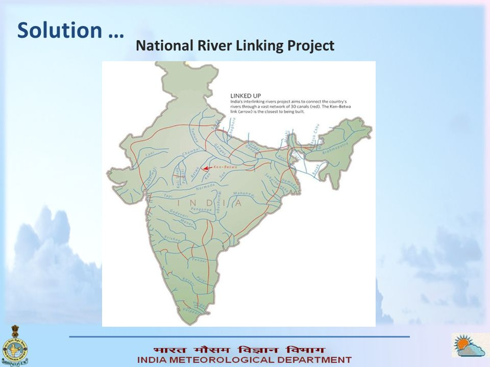 Solution … National River Linking Project