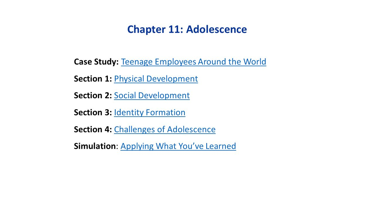 The main stage in the formation of a person as a person, or What is adolescence