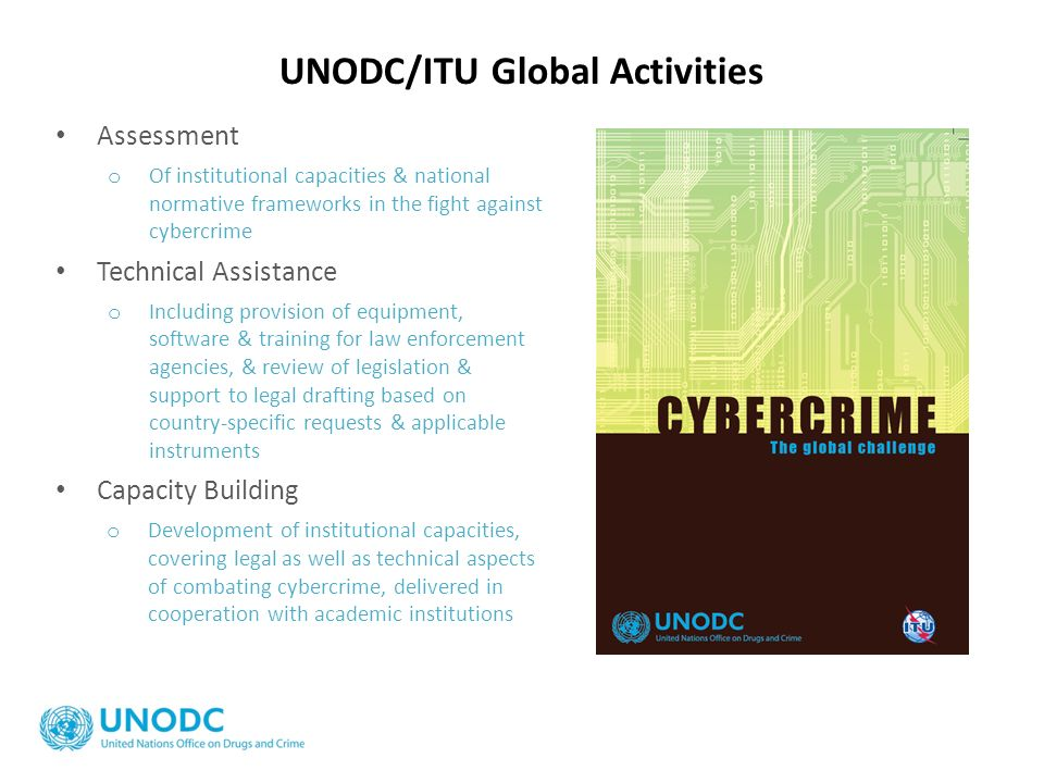 UNODC/ITU Global Activities