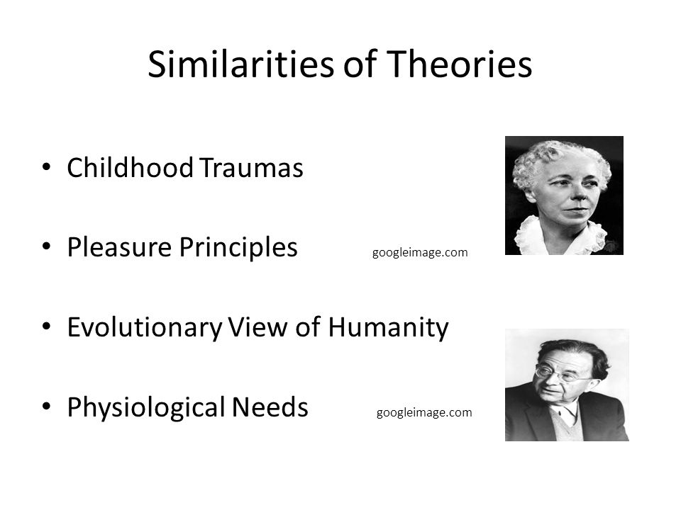Similarities of Theories