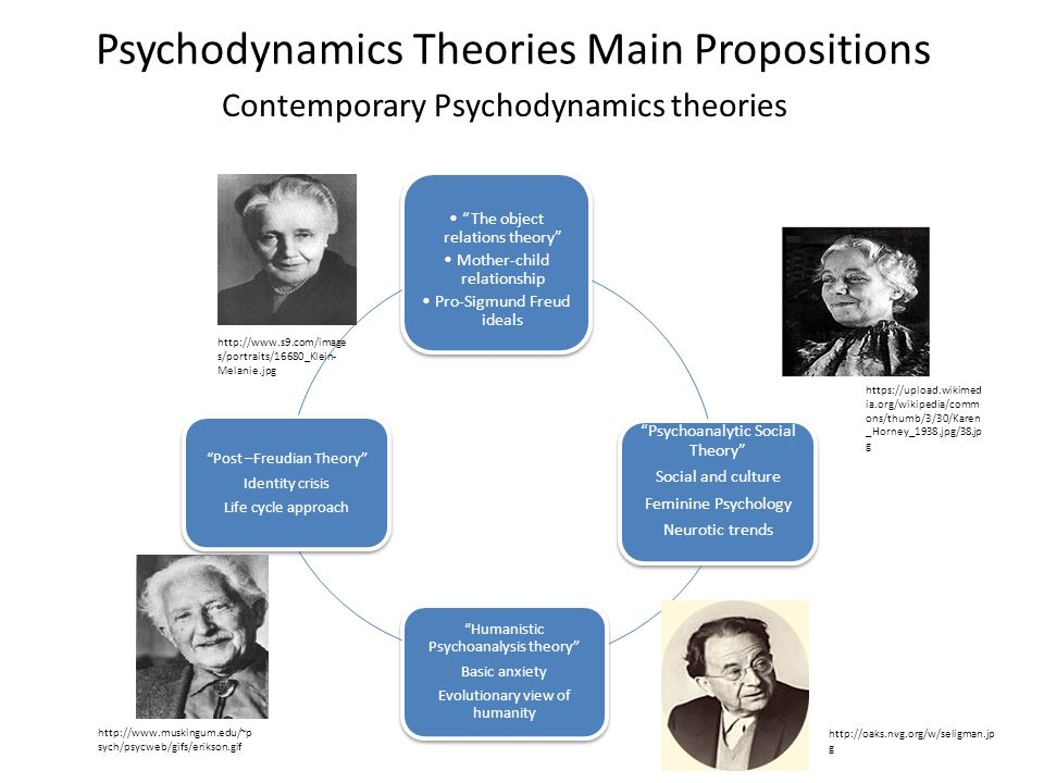 Psychodynamics Theories Main Propositions