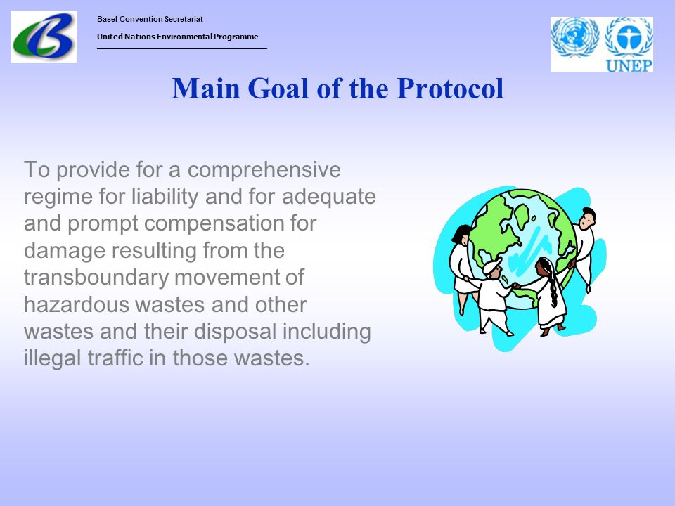 Main Goal of the Protocol